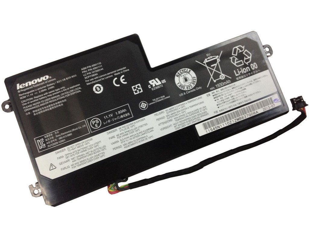 24Wh Batterie 24Wh Lenovo 31CP7/38/64 3ICP7/38/64
